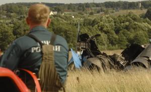 Самолет разбился в районе аэропорта Большое Грызлово